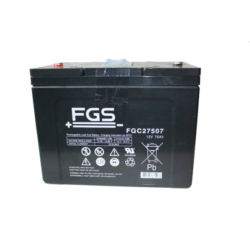 FGS FGC27507 AGM-Batterie 12V/75AH